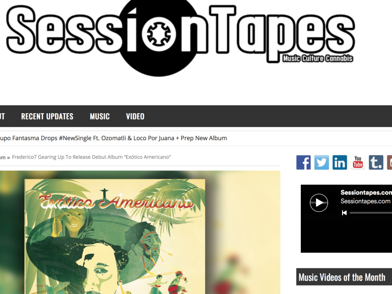 La Mirada del Halcón Featured on Session Tapes