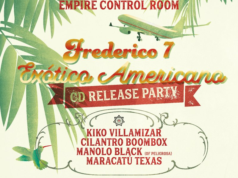 Exotico Americano ONE MONTH AWAY! We got Some Press !