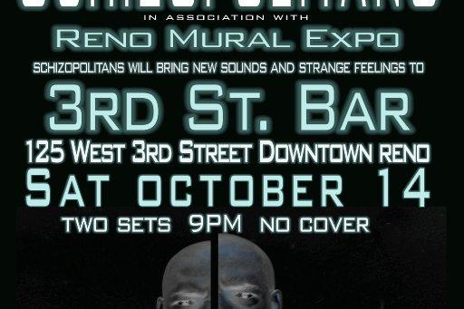 Schizopolitans play Reno Mural Expo