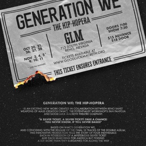 Opening Weekened Generation WE: A Hip-Hopera
