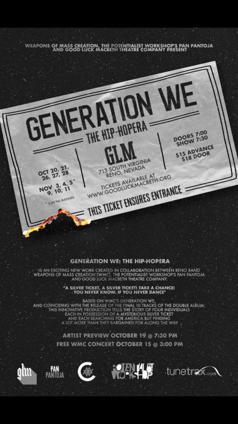 Opening Weekened Generation WE: A Hip-Hopera