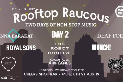 Rooftop Raucous 2019 Showcase Day 2