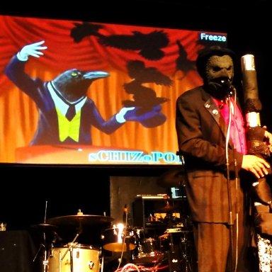 Schizoplitans on the stage