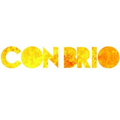Con Brio Logo White