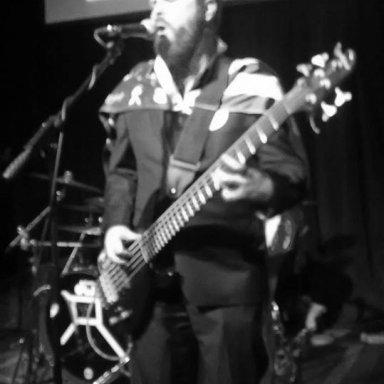 Aric at Bernie show