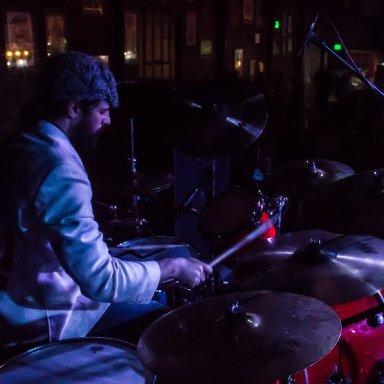 Steven live onstage