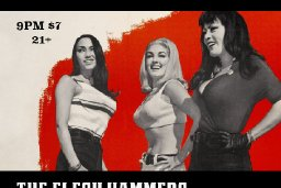 The Flesh Hammers will be returning for their 1st live show in over 6 months! Studio on 4th Reno June 2