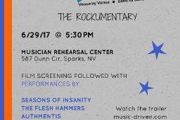 Flyer from the Music Driven rockumentary movie premiere!