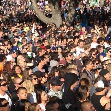 Cali Roots crowd