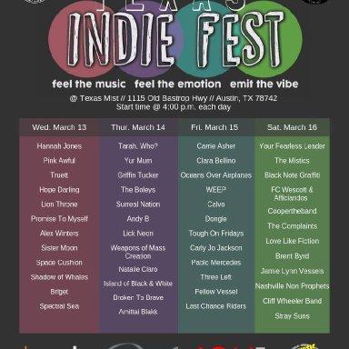 Texas Indie Fest!