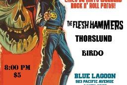 Blue Lagoon show flyer