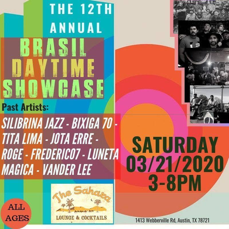 12th Annual Brazilian Daytime Showcase (During Music Week)