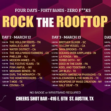 Rock the Rooftop